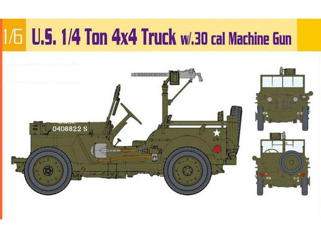 U.S. Jeep 1/4 Ton 4x4 Truck  (Vista 1)