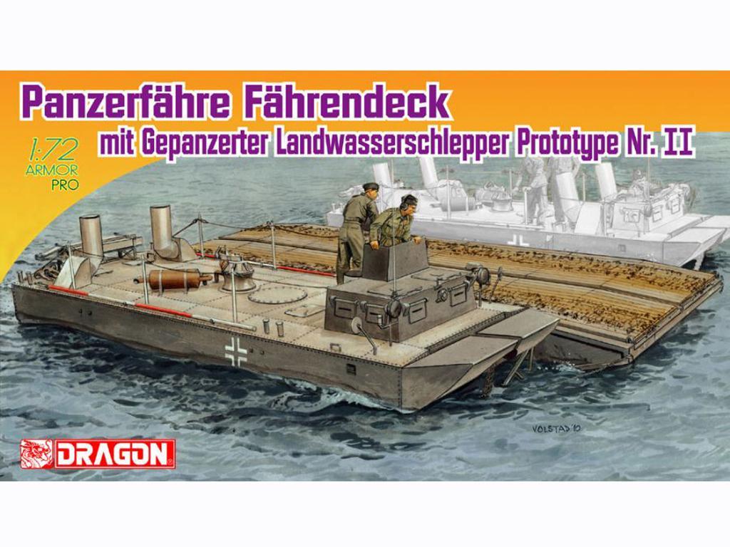 Panzerfähre Fährendeck mit Gepanzerter L (Vista 1)