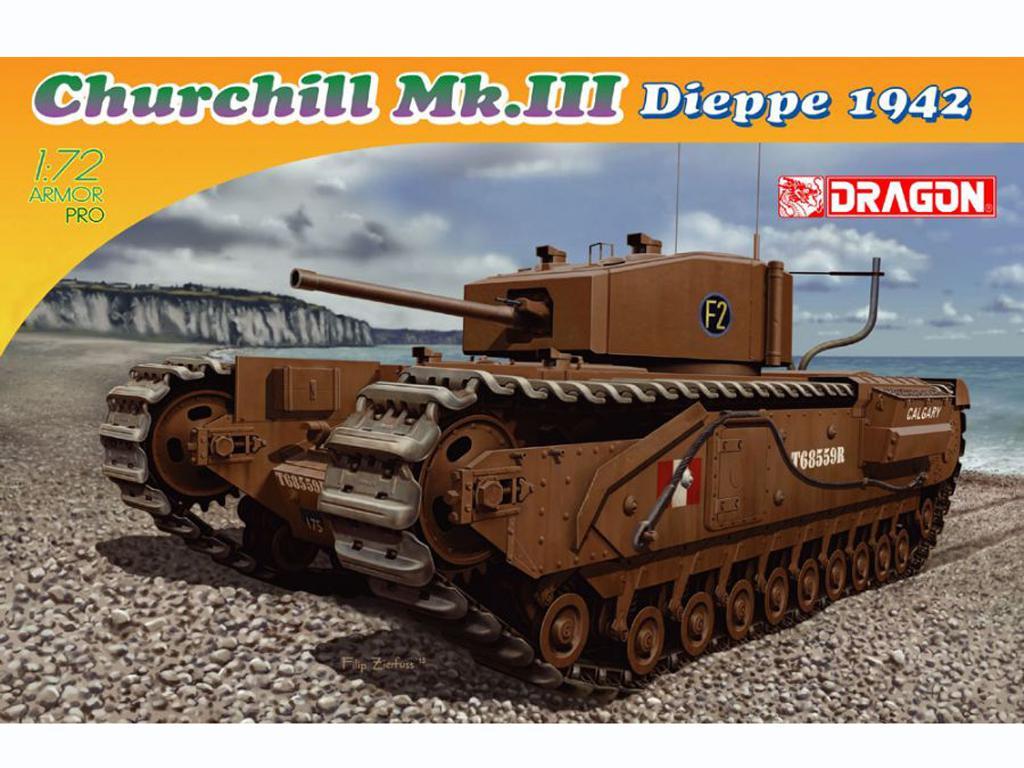 Churchill Mk.III, Dieppe 1942 (Vista 1)