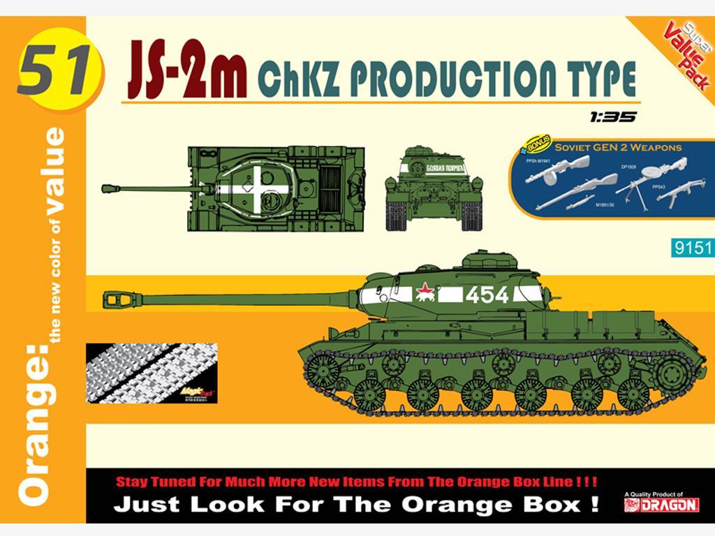 JS-2M ChKZ prod. Type w/Soviet Gen.2 wea (Vista 1)