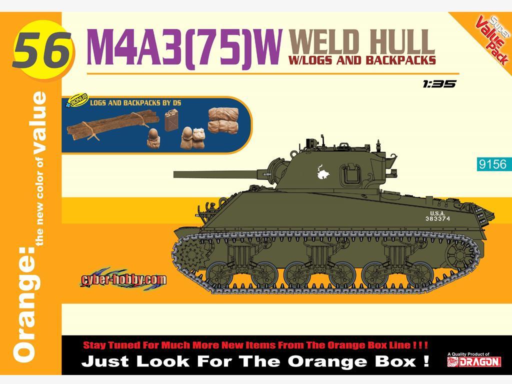 M4 A3 (75) W Weld Hull (Vista 1)