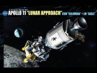 Apollo 11 (Lunar Approach) Csm Columbia  (Vista 4)
