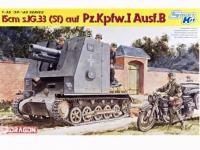 Panzerkampfwagen I Ausf. B, 15 cm sIG 33 (Vista 2)