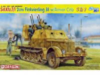 Sd.Kfz.7/1 2cm Flakvierling 38 w/Armor C (Vista 8)
