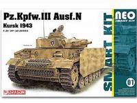 Pz.Kpfw.III Ausf.N Kursk 1943 w/interior (Vista 3)