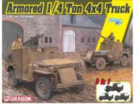 Armored 1/4-Ton 4x4 Truck w/.50-cal Machine Gun (Vista 4)