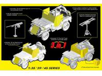 Armored 1/4-Ton 4x4 Truck w/.50-cal Machine Gun (Vista 6)