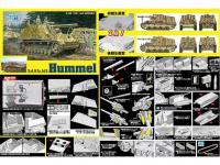 Sd.Kfz.165 Hummel versión inicial o final (Vista 4)