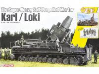 German Super-Heavy Self-Propelled Mortar Karl/Loki (Vista 3)