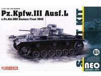 Pz.Kpfw.III Ausf.L s.Pz.Abt.502 Leningrad 1942/43  (Vista 3)