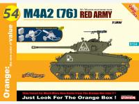 M4A2 (76) Red Army + Maxim Machine Gun (Vista 2)