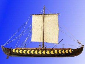 Viking ship GOKSTAD, 9th century   (Vista 1)