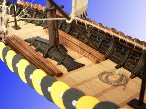 Viking ship GOKSTAD, 9th century   (Vista 2)