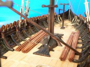 Viking ship GOKSTAD, 9th century   (Vista 6)