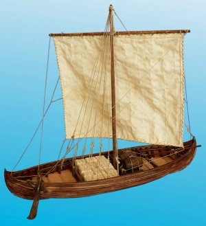 Viking KNARR 11th century   (Vista 2)