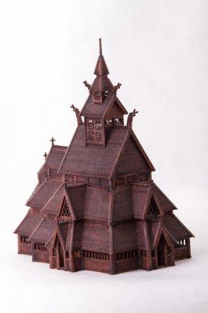 Norwegian stave church GOL:  (Vista 2)