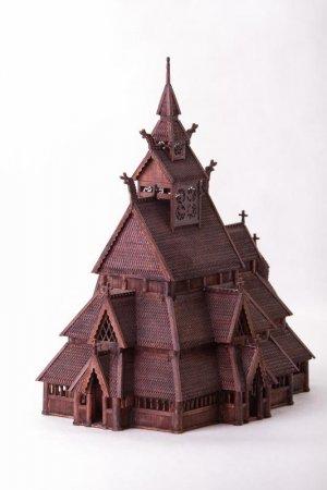 Norwegian stave church GOL:  (Vista 3)