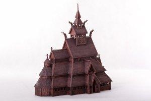 Norwegian stave church GOL:  (Vista 4)