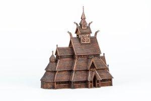 Norwegian stave church GOL:  (Vista 5)