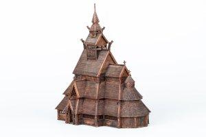 Norwegian stave church GOL:  (Vista 6)