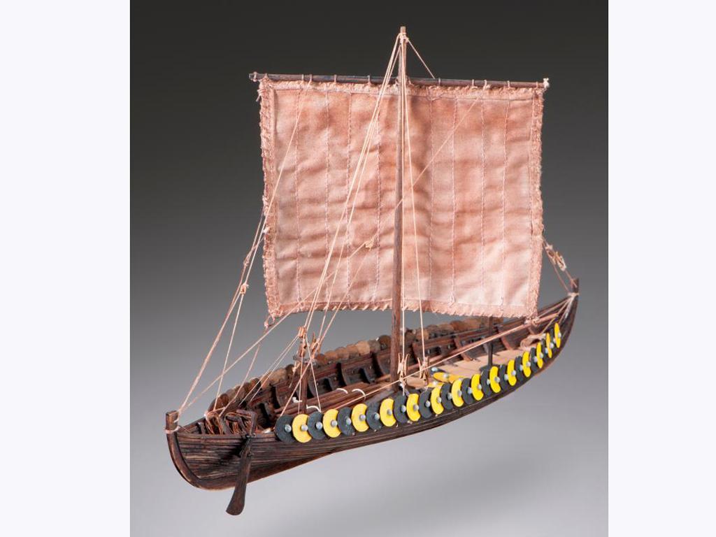 Barco Vikingo GOKSTAD, siglo IX (Vista 1)