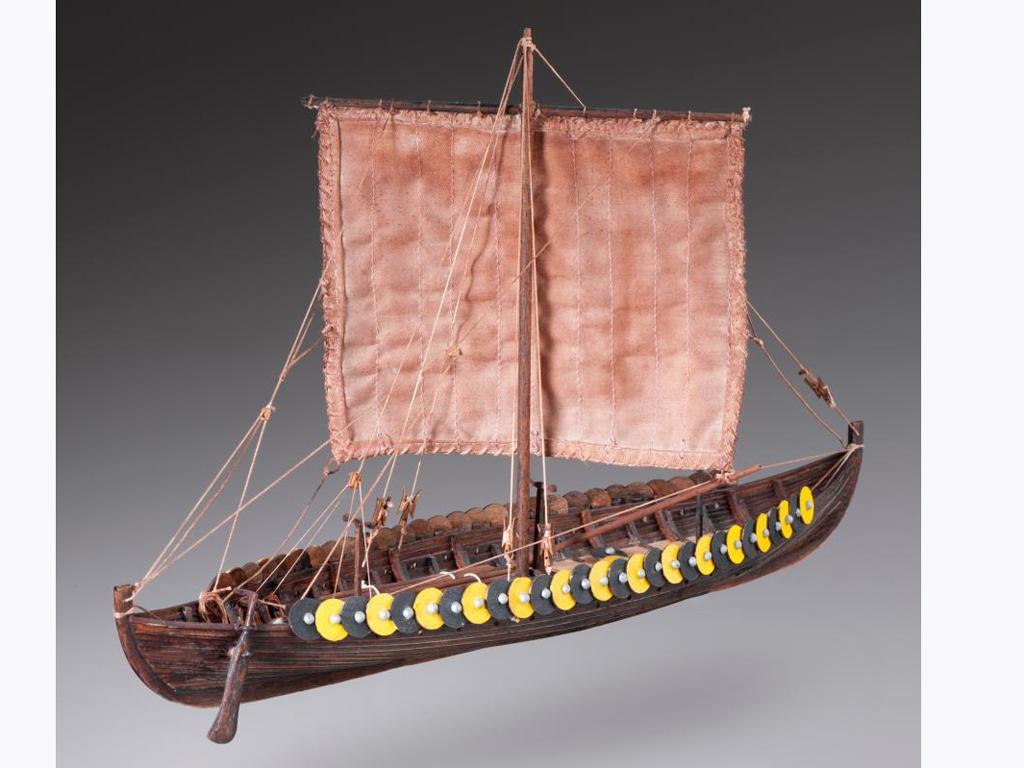 Barco Vikingo GOKSTAD, siglo IX (Vista 2)