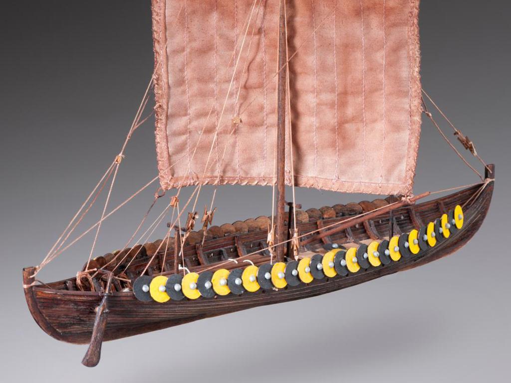 Barco Vikingo GOKSTAD, siglo IX (Vista 3)