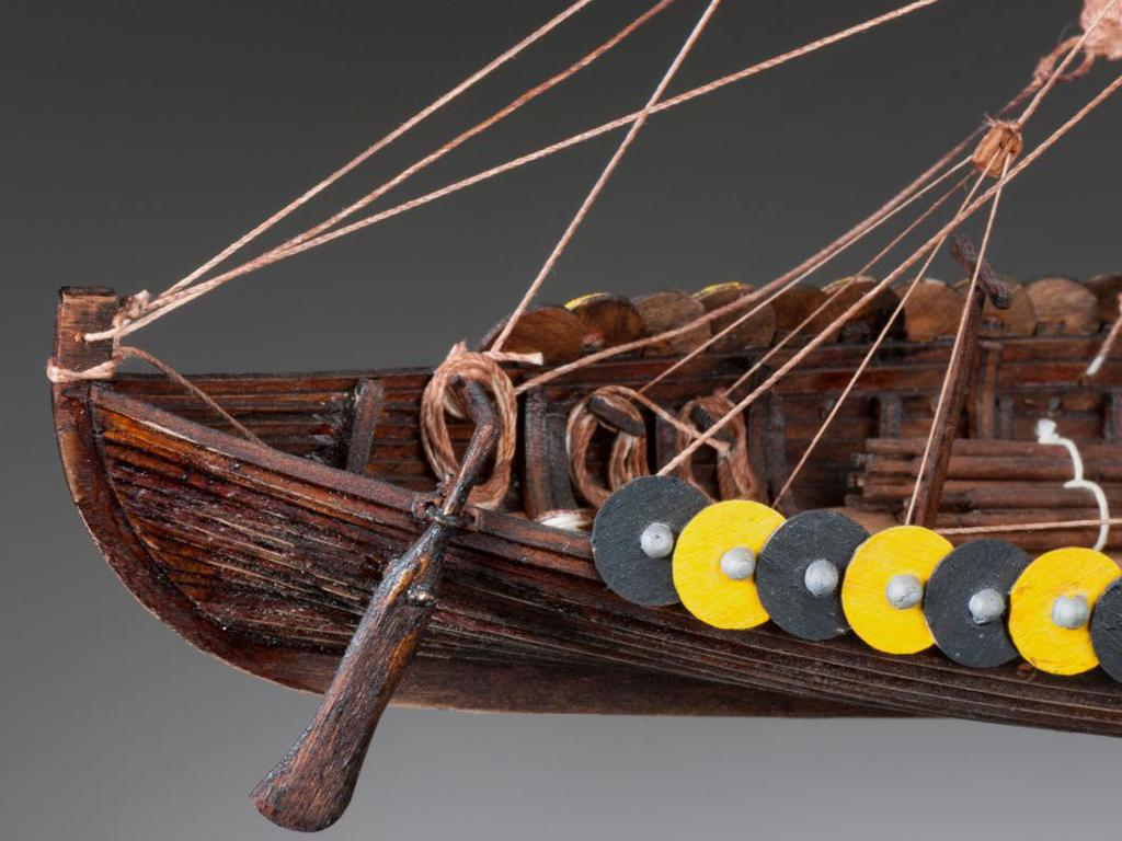 Barco Vikingo GOKSTAD, siglo IX (Vista 6)