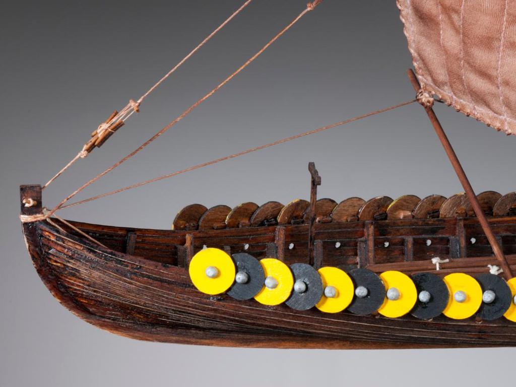 Barco Vikingo GOKSTAD, siglo IX (Vista 7)