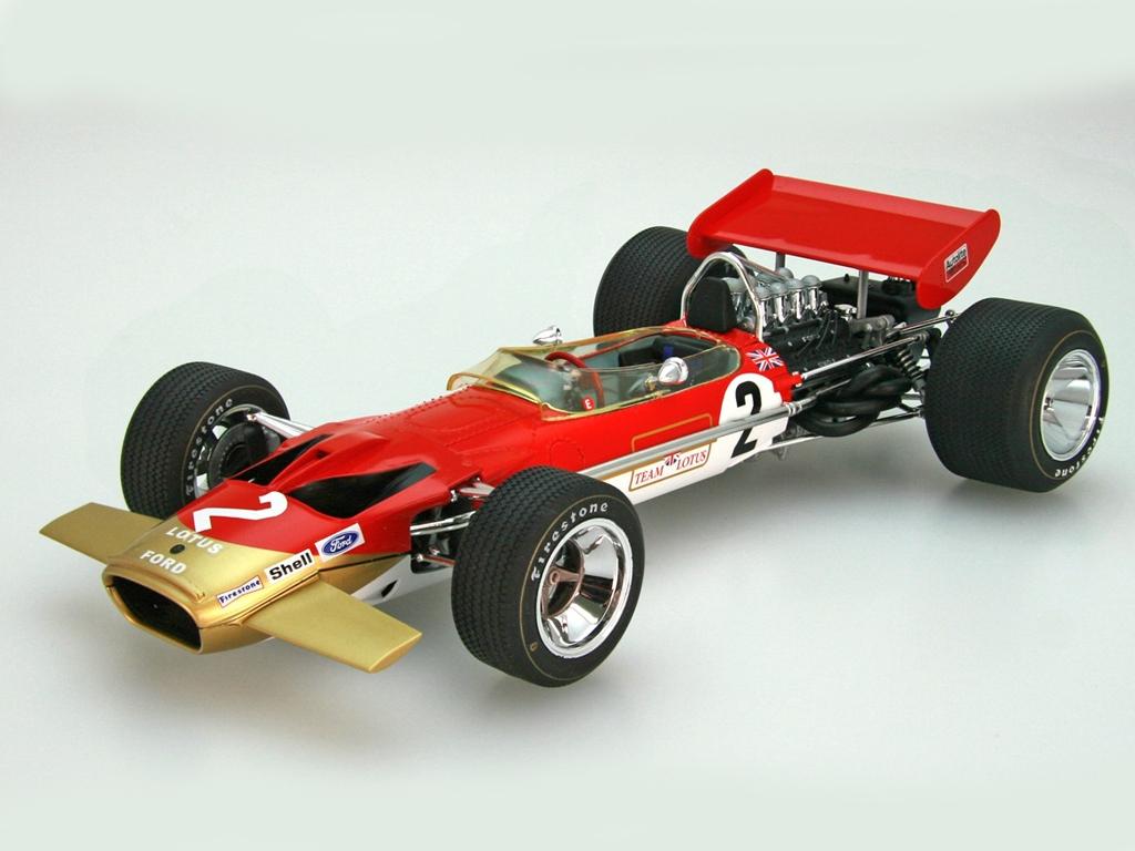 Team Lotus Type 49B 1968  (Vista 2)