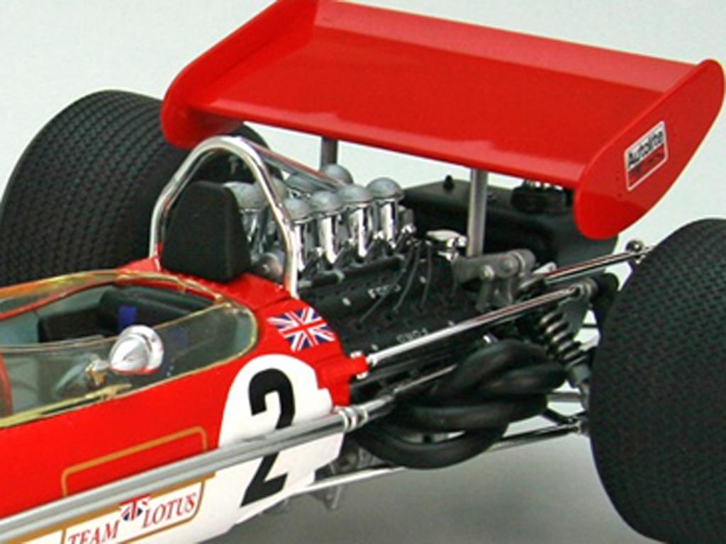 Team Lotus Type 49B 1968  (Vista 7)