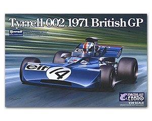 Tyrrell 002 British GP 1971  (Vista 1)