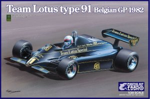 Team Lotus Type 91 Belgian GP 1982  (Vista 1)