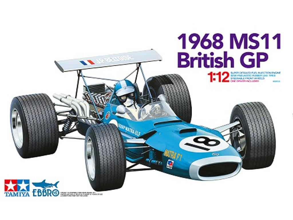 Matra MS 11 - 1968 (Vista 1)