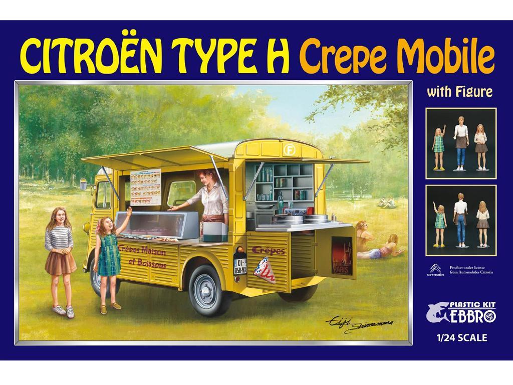 Citroen Tipo H Crepe Mobile con Figura (Vista 1)