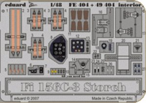 Fi 156C-3 Storch interior s.adh.  (Vista 1)