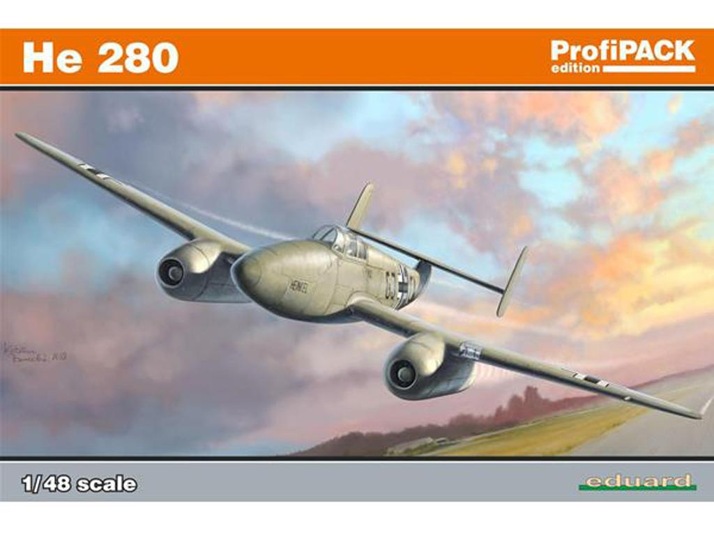 German WWII jet aircraft He 280 (Vista 1)