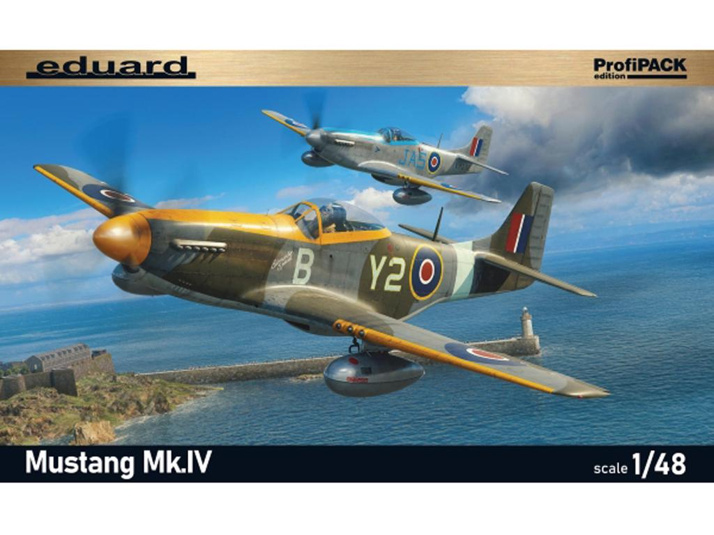 Mustang Mk.IV in RAF service (Vista 1)