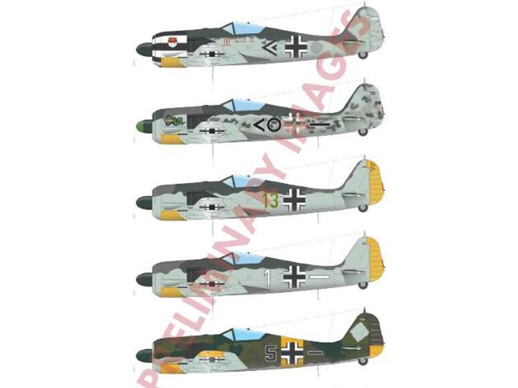 German fighter Fw 190A-5 (Vista 2)