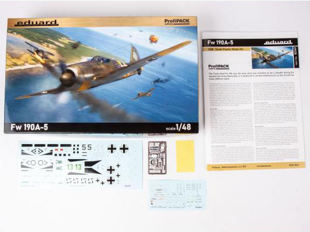 German fighter Fw 190A-5 (Vista 3)