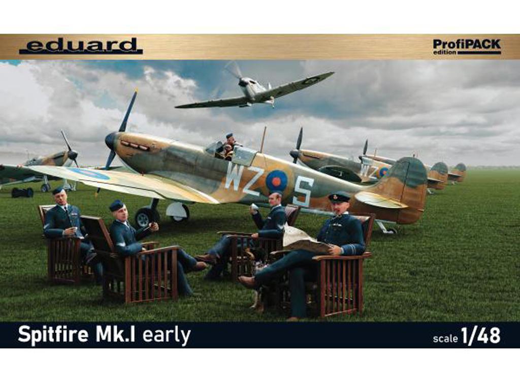 Spitfire Mk.I temprano (Vista 1)