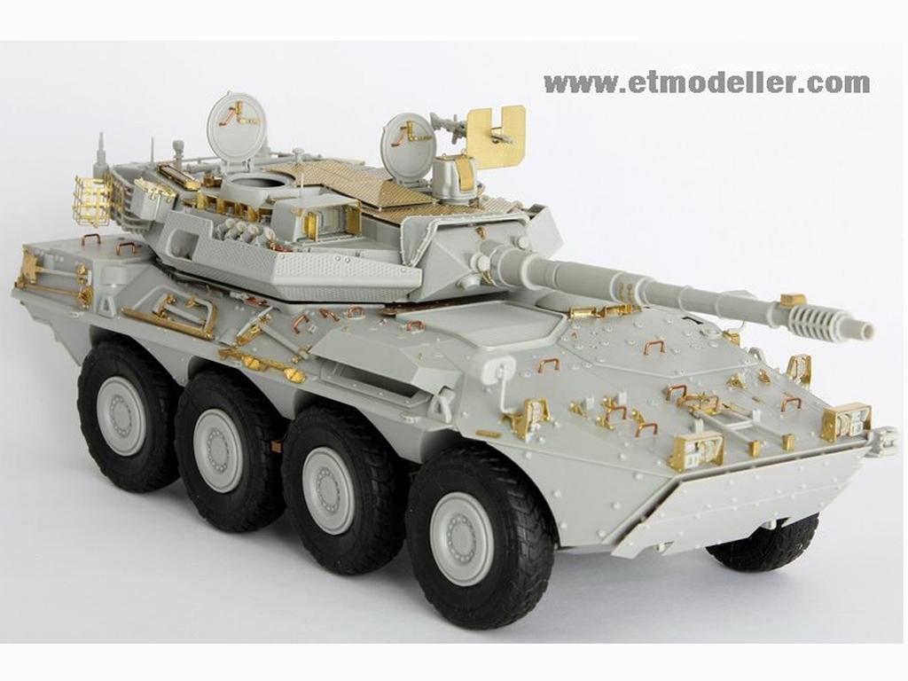 Modern Spanish Army VRC-105 Centauro RCV  (Vista 1)