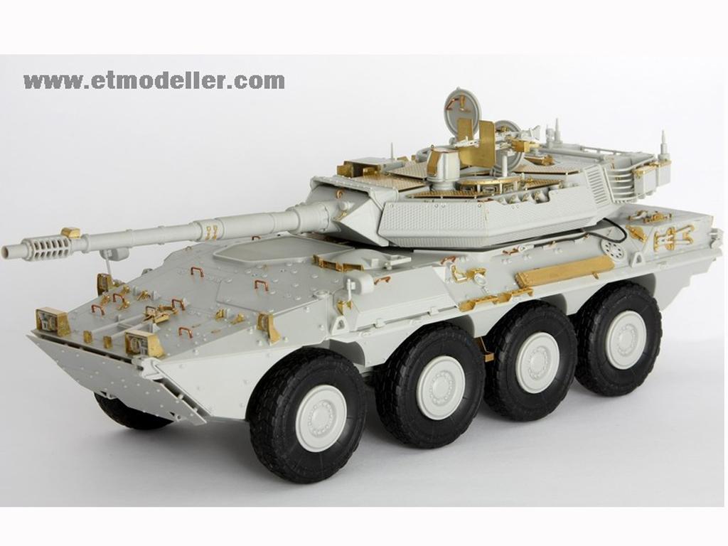 Modern Spanish Army VRC-105 Centauro RCV  (Vista 2)