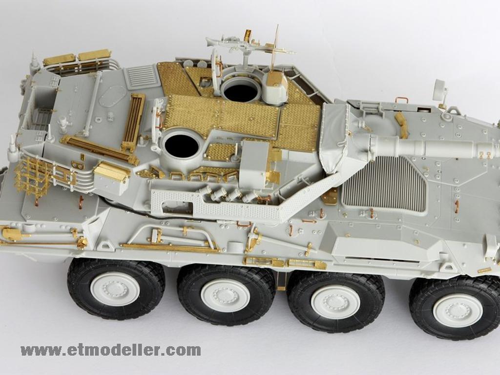 Modern Spanish Army VRC-105 Centauro RCV  (Vista 5)