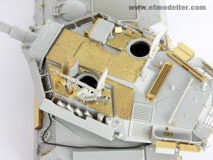 Centauro Tank Destroyer Turret Spatial A - Ref.: ETMO-E35009