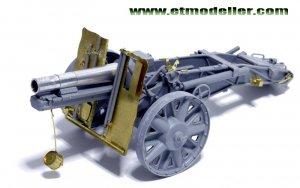 German 15cm sIG33 Infantry Gun - Ref.: ETMO-E35016