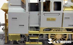 Steam Locomotive BR86 DRG Wheels  (Vista 2)