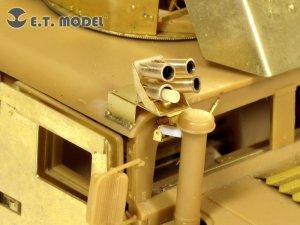 US ARMY M1114 HUMVEE Smoke Discharger  (Vista 2)