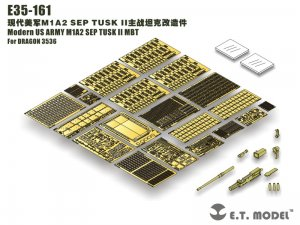 Modern US ARMY M1A2 SEP TUSK II MBT  (Vista 6)