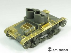 Soviet T-26 Light Tank Mod.1931  (Vista 3)
